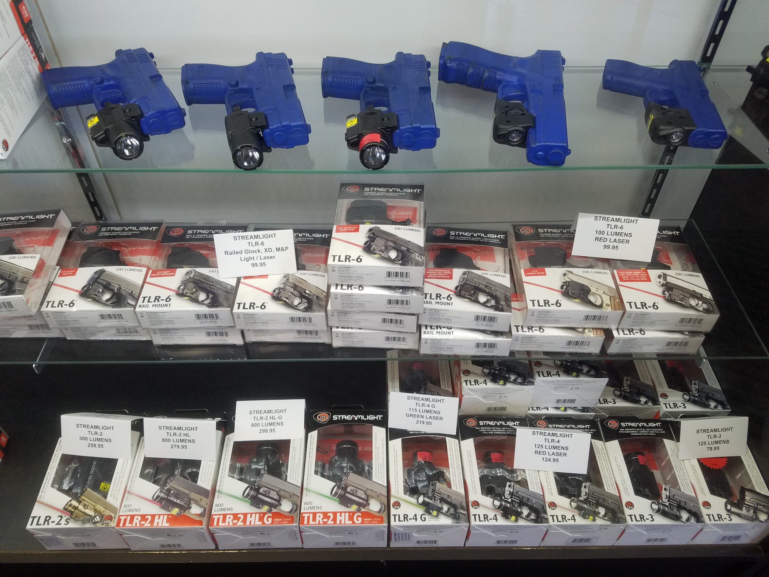 Flashlight Outlet has all your Streamlight Weapon-mounted lighting needs for handguns, shotguns, and rifles
